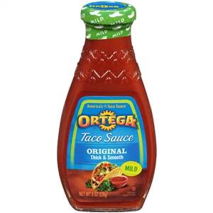 B and G Foods Ortega Taco 8 oz. Mild Sauce