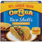 B and G Foods Ortega Taco Shells