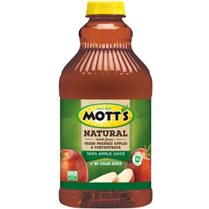 Natural Apple Juice - 64 Fl. Oz.