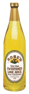 Motts Roses Lime Mixes Plastic - 1 Liter