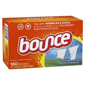 Procter and Gamble Bounce Dryer Sheets Outdoor Fresh