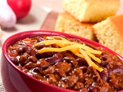 Aunt Kittys Deluxe Venice Maid Chili with Beans