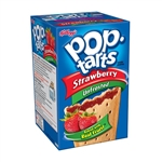 Kelloggs Pop Tart Unfrosted Strawberry - 14.7 Oz.