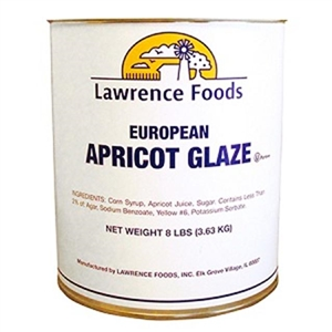 Lawrence Foods Deluxe Apricot Glaze - 48 Pound