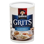 Pepsico Quaker Quick Grits In a Tube - 24 Oz.