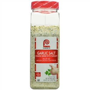 McCormick Lawrys Garlic Salt Coarse Grind with Parsley 28 oz.