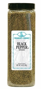 Ach Food Traders Choice 14 oz. Black Ground Pepper