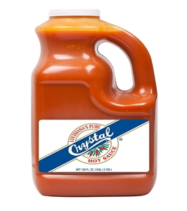 Baumer Crystal Hot Plastic Sauce 1 Gallon