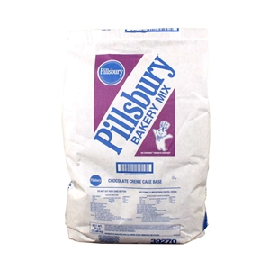 Pillsbury Chocolate Creme Cake Base Mix - 50 Lb.
