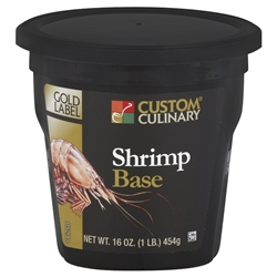 Custom Culinary Gold Label Shrimp Base No Msg Added - 1 Lb.
