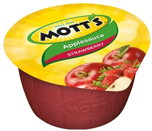 Motts Apple Strawberry Sauce Blend - 4 Oz.