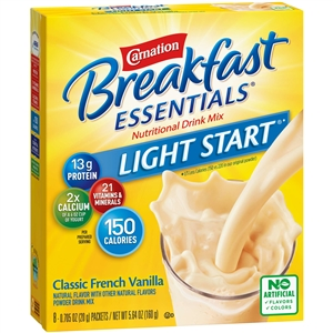 Nestle Instant Breakfast Vanilla No Sugar Added Drink