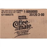 Nestle Coffee Mate Regular Liquid Creamer Portion Control - 0.38 Oz.