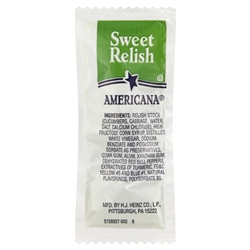 Portion Pac Americana Sweet Relish - 9 Grm.