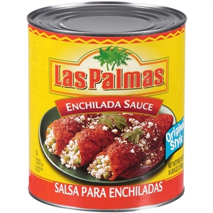 B and G Foods Las Palmas Enchilada 102 oz. Original Style Sauce
