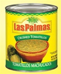 B and G Foods Peppers Las Palmas 102 oz. Crushed Tomatillos