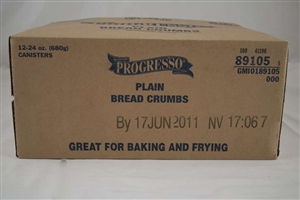 General Mills Progresso Plain Bread Crumbs - 24 Oz.