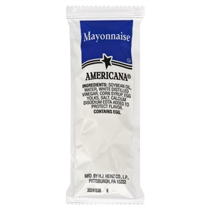 Portion Pac Americana Mayonnaise Polypropylene - 9 Grm.