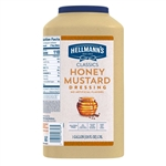Unilever Best Foods Hellmans Honey Mustard Dressing - 1 Gallon