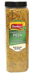 Ach Food Durkee Classic Italian 17 oz. Pizza Seasoning
