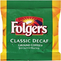 Folgers Classic Roast Decaffeinated Fraction Coffee - 1.05 Oz.