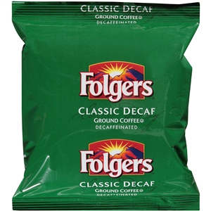 Folgers Classic Decaffeinated Ground Coffee - 5.4 Oz.