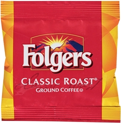 Folgers Classic Roast Regular Fraction Coffee - 0.9 Oz.