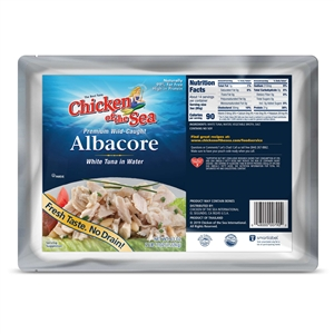 Chicken Of The Sea Albacore Chunk Tuna Pouch White - 43 Oz.