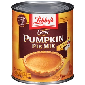 Libby Easy Pumpkin Pie Mix - 30 Oz.