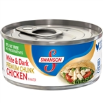 Chicken Swanson White Dark Chunk - 4.5 Oz.