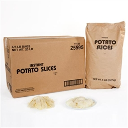 Basic American Instant Sliced Potatoes 5 Pound