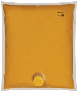 B and G Foods Ortega Nacho Cheese Sauce 107 oz. Pouch Jalapeno Dispenser