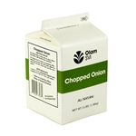 Onion Fresh Flavor Chopped Pure Pak Cartons - 3 lb.