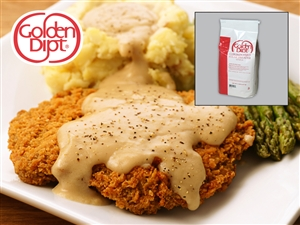 Golden Dipt Breader Chicken Fried Steak - 5 Pound