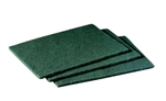 3M Scotch-Brite General Purpose 6 in. x 9 in. Green Scouring Pad