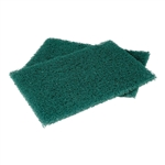 3M Scotch-Brite Heavy Duty Green Scouring Pad 6 in. x 9 in.