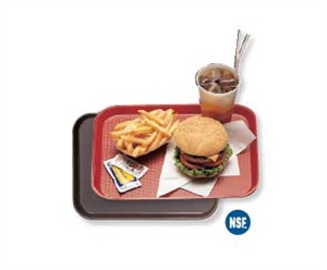Cambro Plastic Fast Food Tray Brown 13.81 in. x 17.75 in.