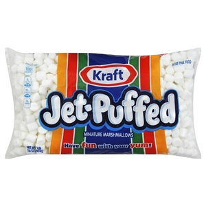 Kraft Nabisco Jet Puffed Mini Marshmallow Candy White - 16 Oz.