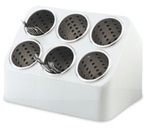 Vollrath Plastic Silv-A-Tainer Cylinder Holder