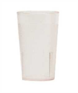 Cambro Stackable Plastic Tumbler Clear 9.8 Oz.