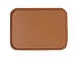 Cambro Fast Food Tray Brown 11.88 in. x 16.13 in.