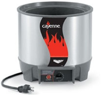 Vollrath Cayenne Round Heat and Serve Electric Food Warmer 11 Qt.