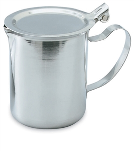 Vollrath Stainless Steel Stocking Lid Server - 10 Oz.
