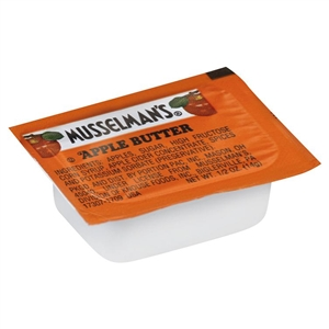 Portion Pac Musselmans Apple Butter - 0.5 Oz.