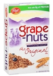 Cereal Post Grape Nut Jumbo - 64 Oz.
