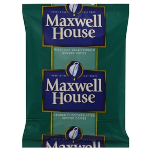 Kraft Nabisco Maxwell House Decaffeinated Super High Yield Coffee - 1.25 Oz.