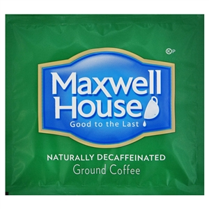 Kraft Nabisco Maxwell House Decaffeinated Coffee Filterpack - 0.7 Oz.