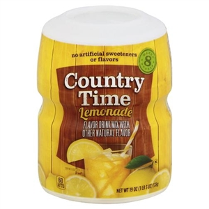 Kraft Nabisco Country Time Lemonade Beverage - 19 Oz.