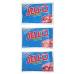 Kraft Nabisco Jello Sugar Free Red Assorted Gelatin - 2.75 Oz.