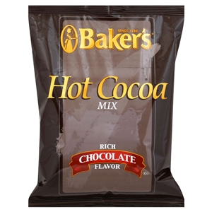 Kraft Nabisco Bakers Hot Cocoa Beverage - 2 Lb.